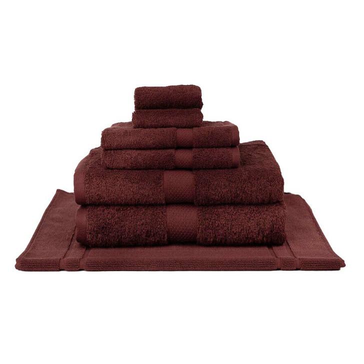 Mildtouch 100% Combed Cotton 7pc Bath Sheet Set Shiraz | My Linen