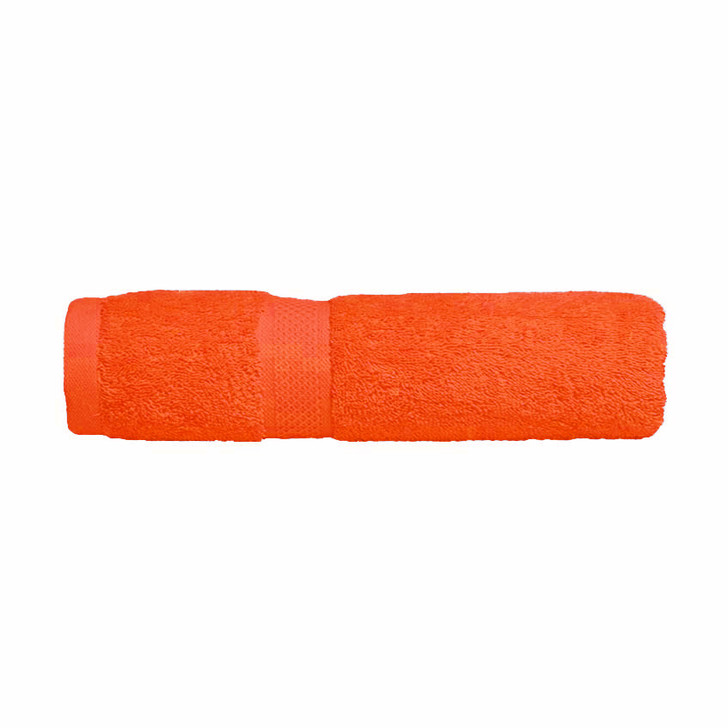 Mildtouch 100% Combed Cotton Bath Towel Orange | My Linen