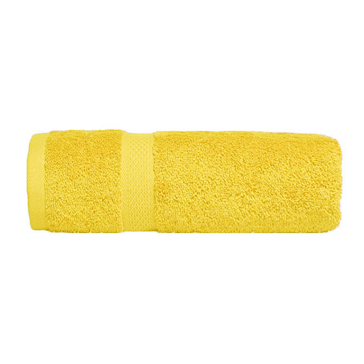 Mildtouch 100% Combed Cotton Bath Sheet Yellow | My Linen