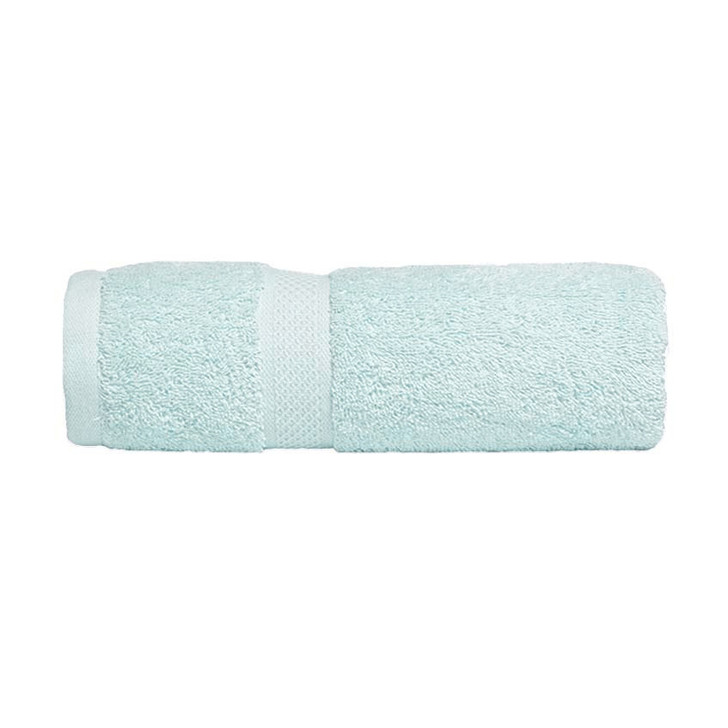 Mildtouch 100% Combed Cotton Bath Sheet Soft Aqua   My Linen