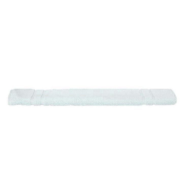 Mildtouch 100% Combed Cotton Bath Mat Soft Aqua   My Linen
