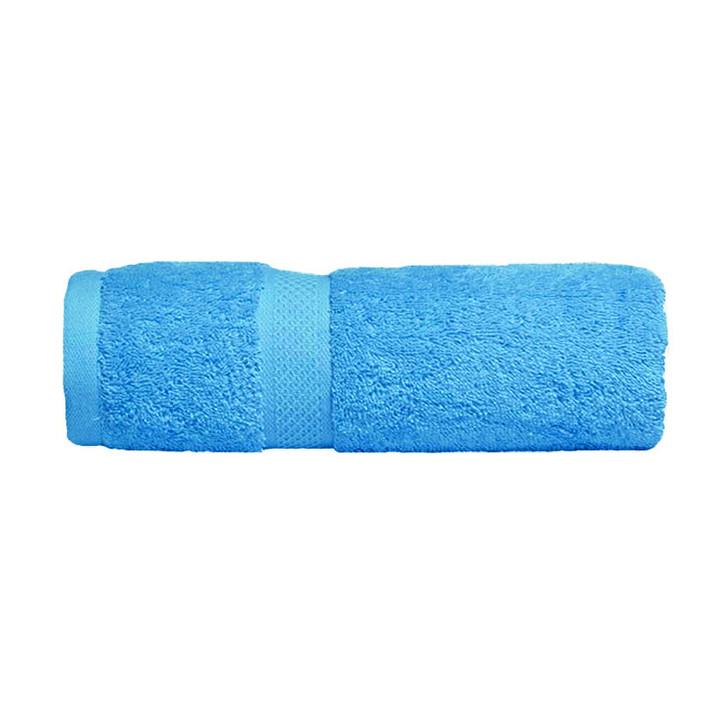 Mildtouch 100% Combed Cotton Bath Sheet Aqua | My Linen