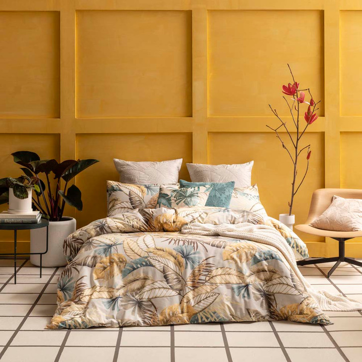 KAS Amazon Multi King Bed Quilt Cover Set   My Linen
