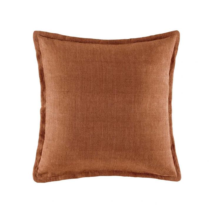 KAS Linen Hazel Square Filled Cushion   My Linen
