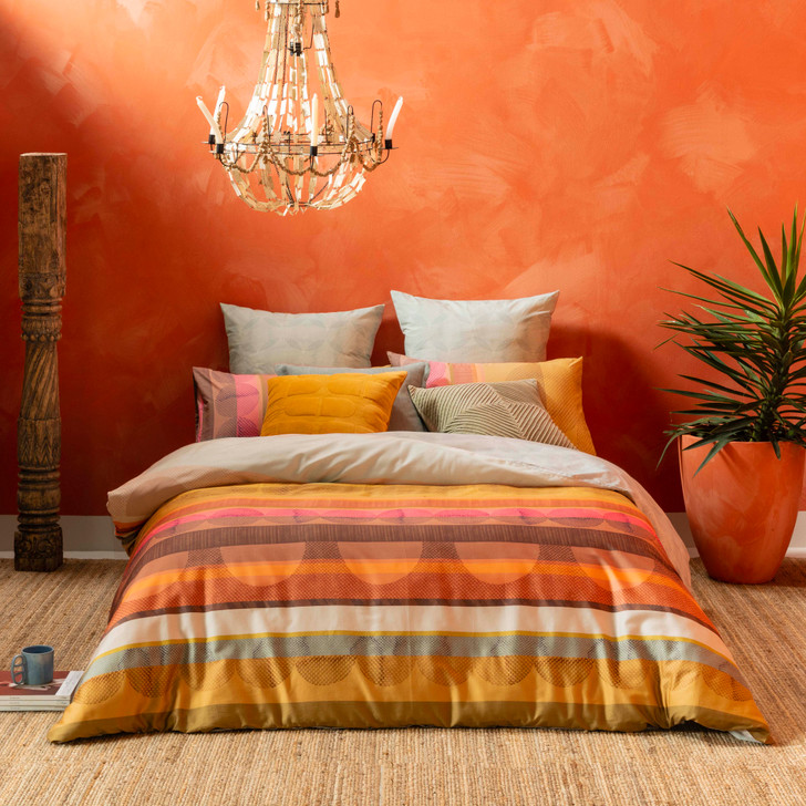KAS Adele Multi King Bed Quilt Cover Set   My Linen