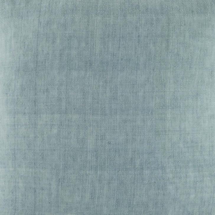 KAS Linen Sage Square Filled Cushion Detail | My Linen