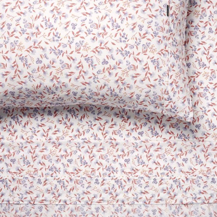 Linen House Matilda Peach Sheet Set King Bed   My Linen
