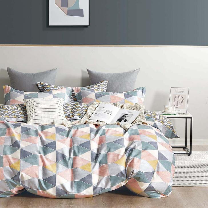 Ardor Sadie Multi Single Bed Quilt Cover Set | My Linen
