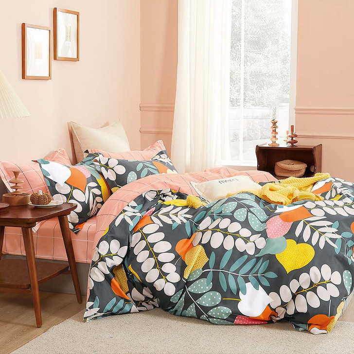 Ardor Mimi Multi Single Bed Quilt Cover Set | My Linen