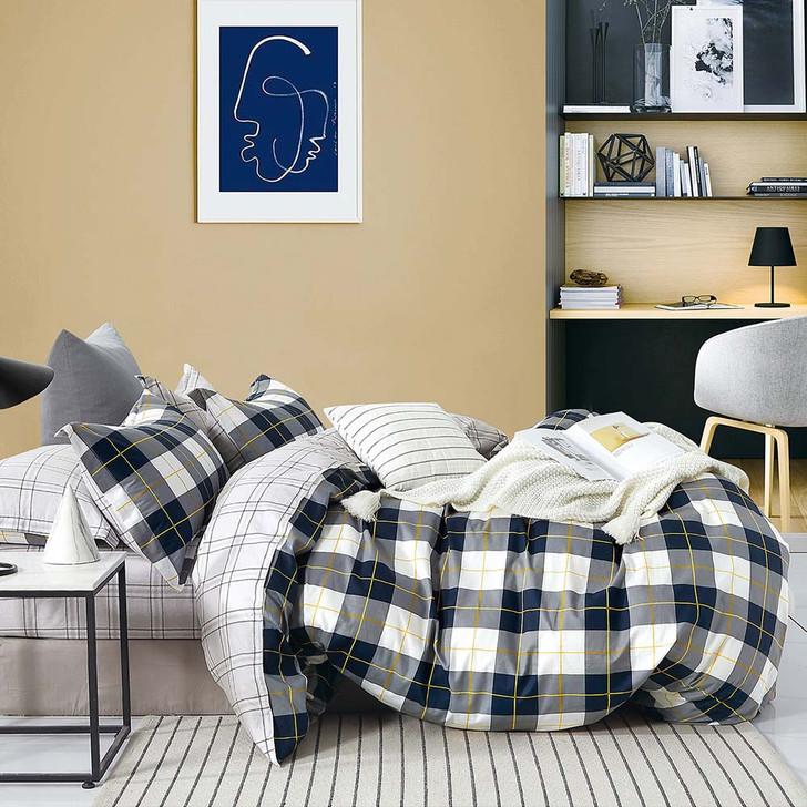 Ardor Cooper Multi Double Bed Quilt Cover Set | My Linen