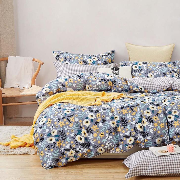 Ardor Aimee Multi Queen Bed Quilt Cover Set | My Linen