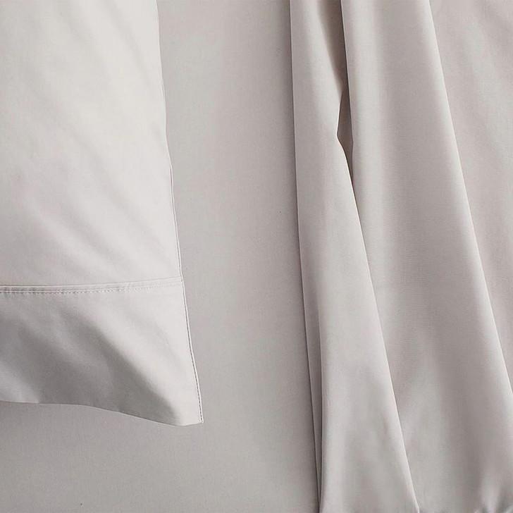 Sheridan 300TC Classic Percale Organic Cotton Dove King Bed Sheet Set | My Linen