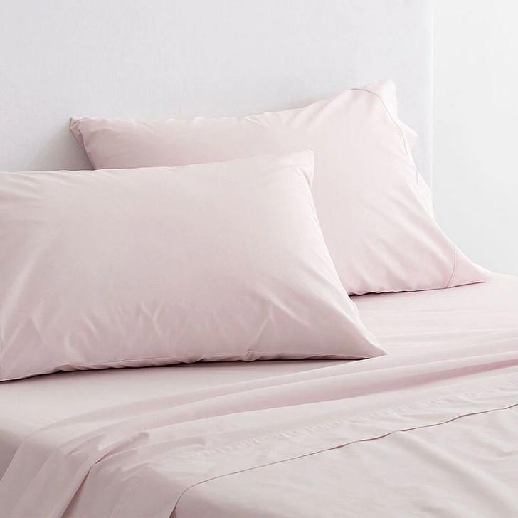 Sheridan 300TC Classic Percale Organic Cotton Shell Standard Pillowcase Pair   My Linen