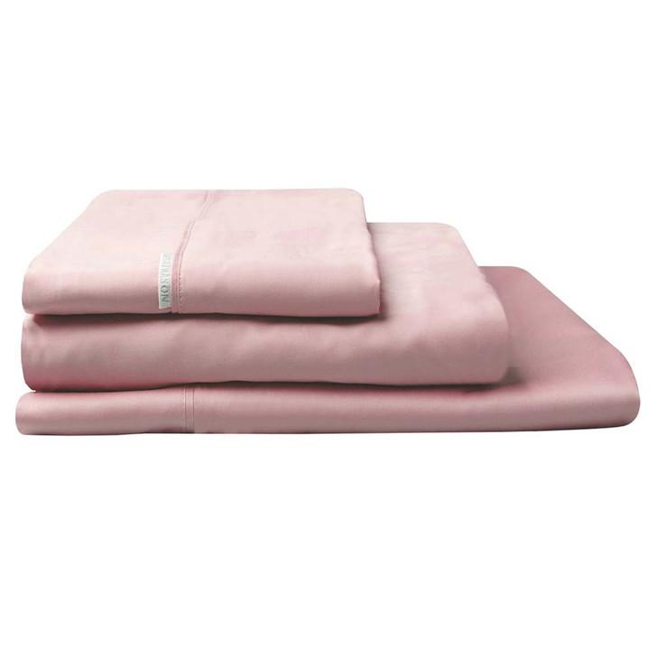 Logan and Mason 300TC Cotton Percale Single Bed Sheet Set Dusk | My Linen