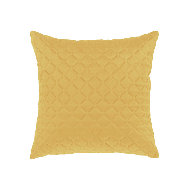 Bianca Alden Gold Square Filled Cushion   My Linen
