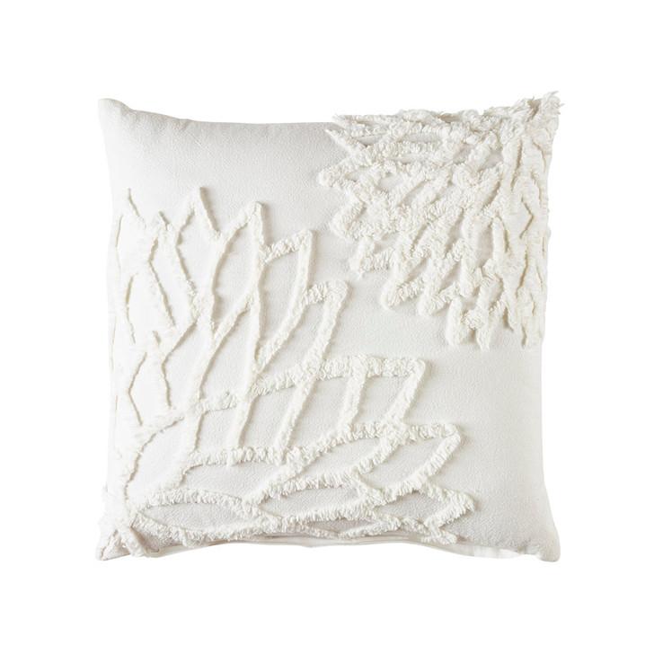 Bianca Maisha Coconut Milk Square Filled Cushion | My Linen