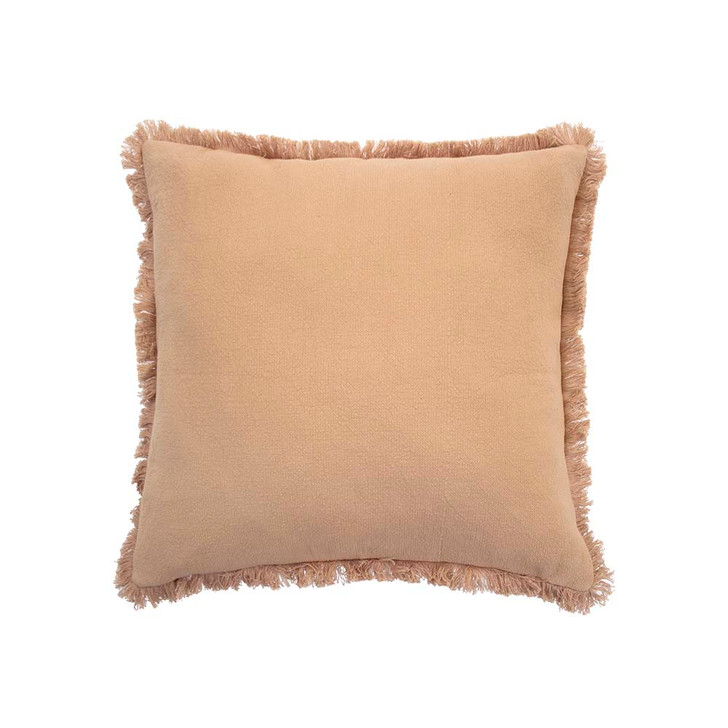 Bambury Avoca Bisque Square Filled Cushion | My Linen