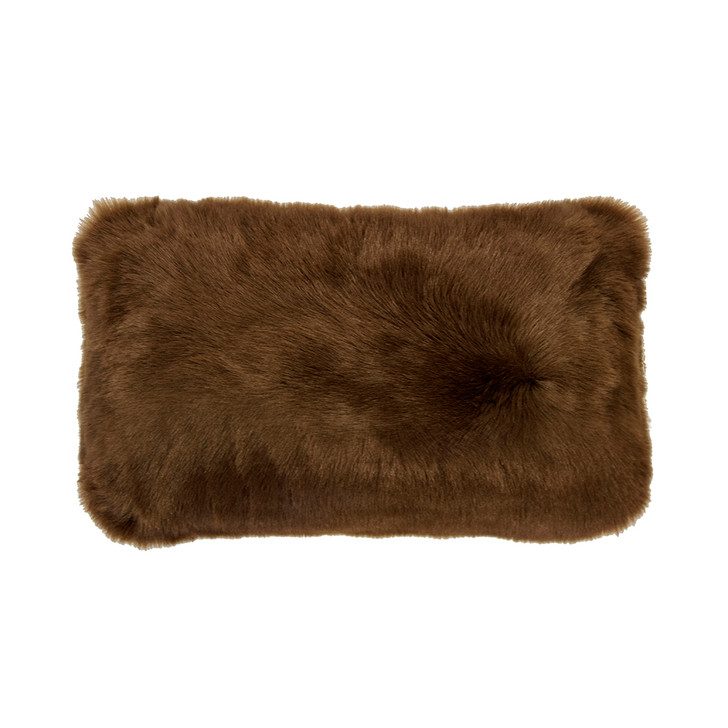 Bambury Faux Fur Hazel Long Filled Cushion   My Linen