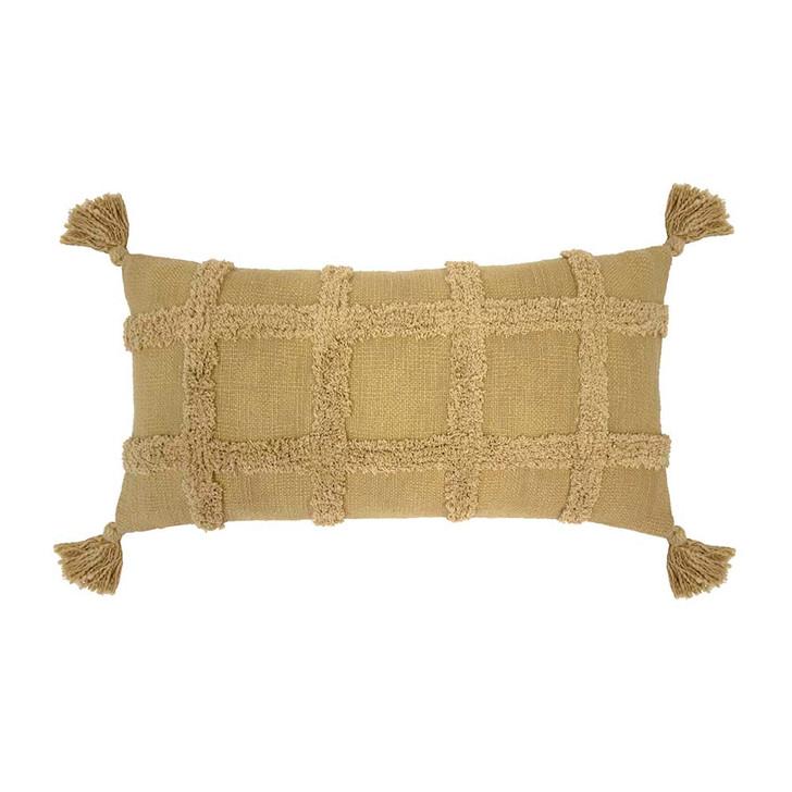 Bambury Percy Flax Long Filled Cushion | My Linen