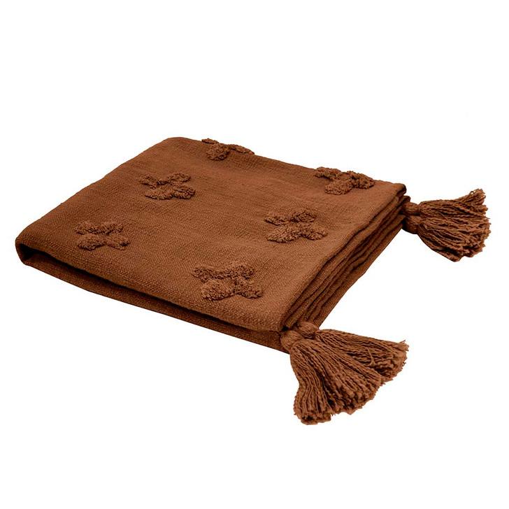 Bambury Ada Chilli Throw   My Linen