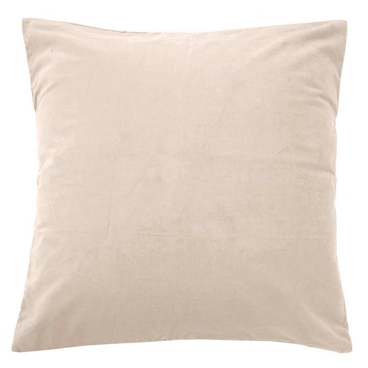 Bambury Velvet Pearl European Pillowcase | My Linen