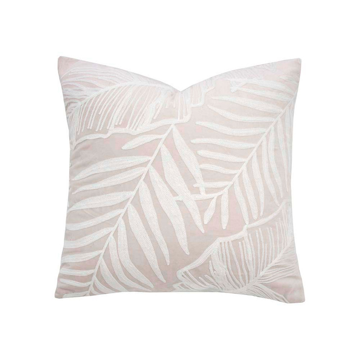 Bambury Eden Pearl Square Filled Cushion   My Linen