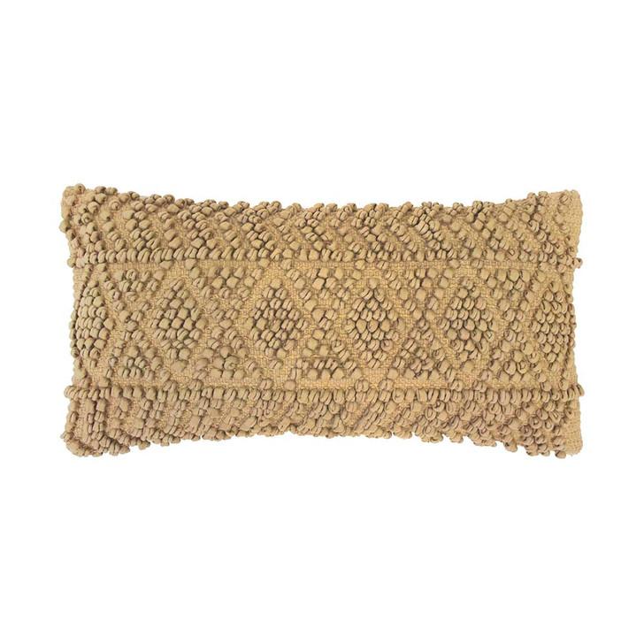 Bambury Glenelg Flax Long Filled Cushion | My Linen