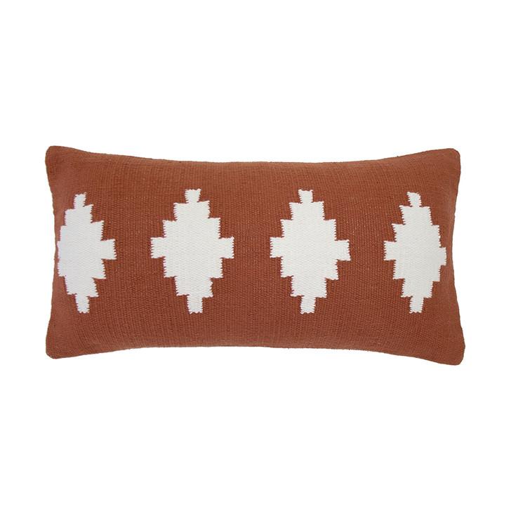 Bambury Richmond Chilli Long Filled Cushion   My Linen