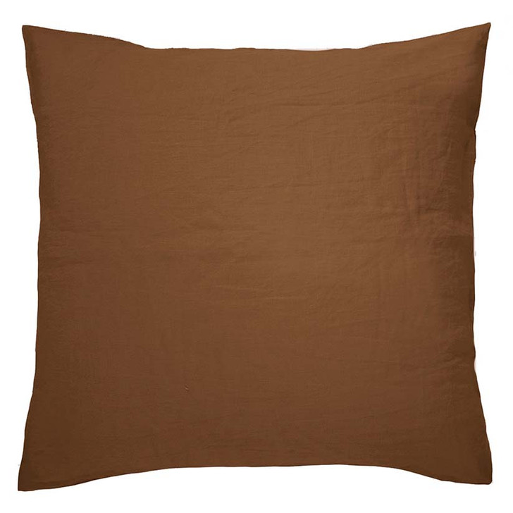Bambury 100% Linen Hazel European Pillowcase | My Linen