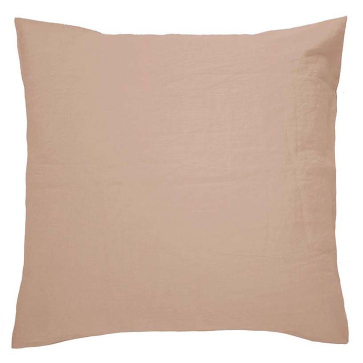 Bambury 100% Linen Tea Rose European Pillowcase | My Linen