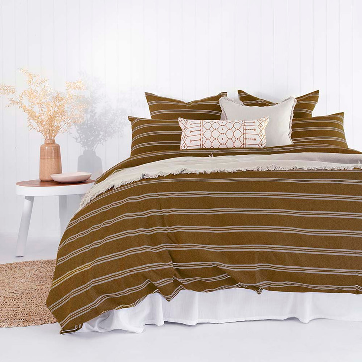 Bambury Jasper Double Bed Quilt Cover Set   My Linen