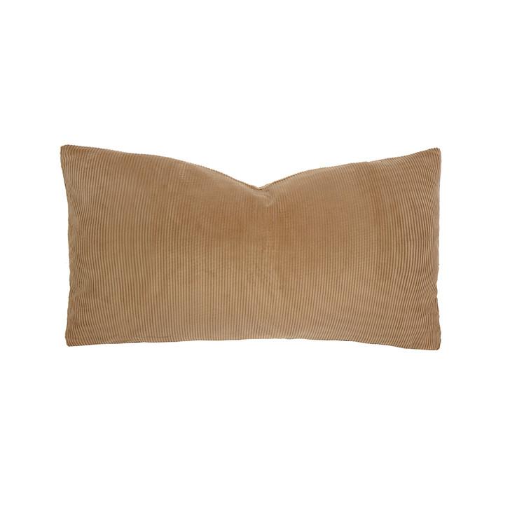 Bambury Sloane Butterscotch Long Filled Cushion | My Linen