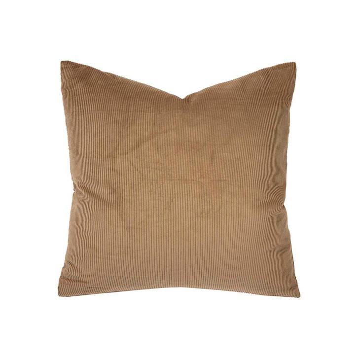 Bambury Sloane Butterscotch Square Filled Cushion   My Linen