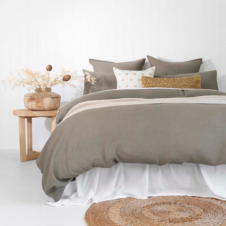 Bambury Boyd Double Bed Quilt Cover Set | My Linen