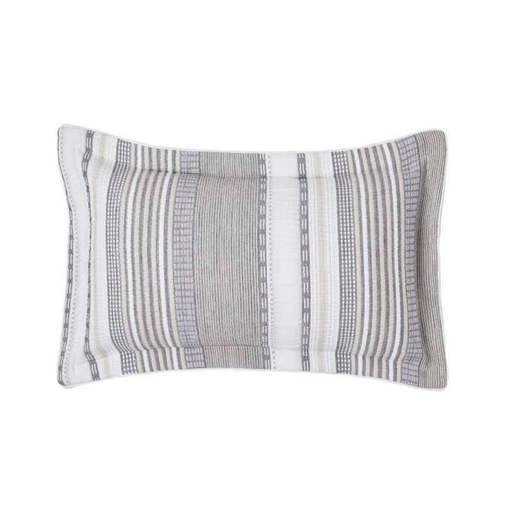 Private Collection Brunswick Chambray Decorator Filled Cushion | My Linen