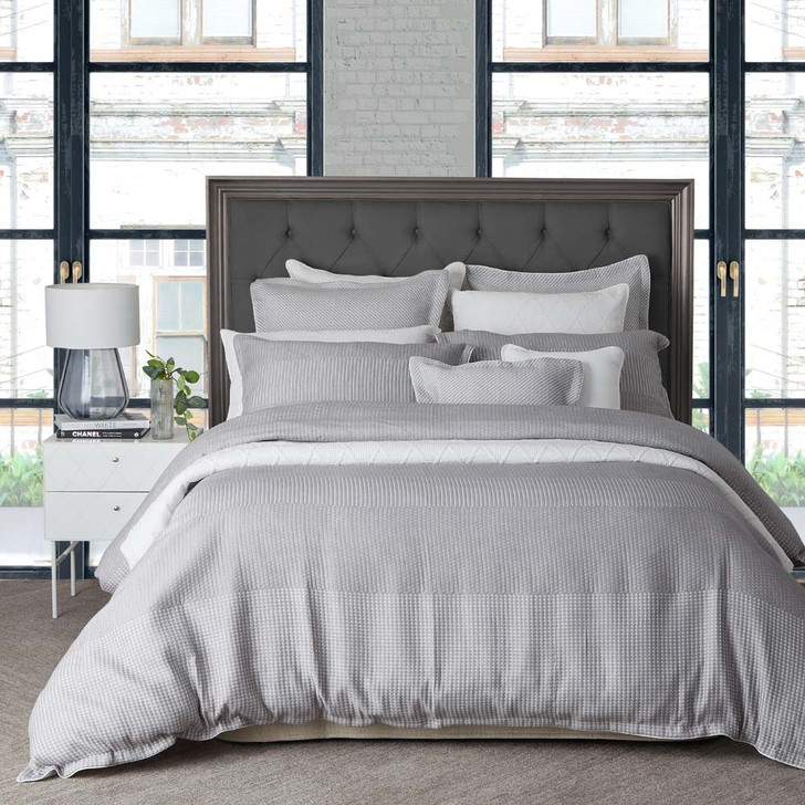 Private Collection Tier Silver Super King Quilt Cover Set | My Linen