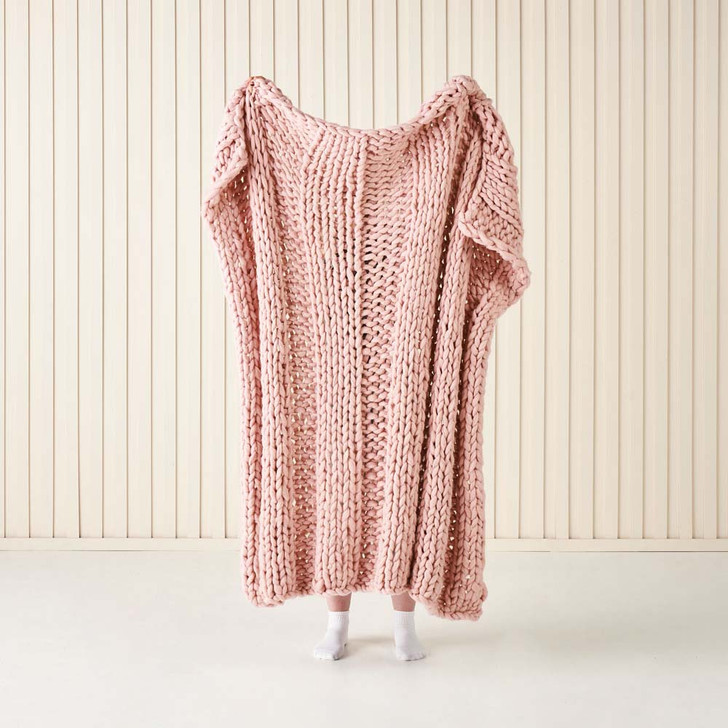 Linen House Lana Rose Throw | My Linen
