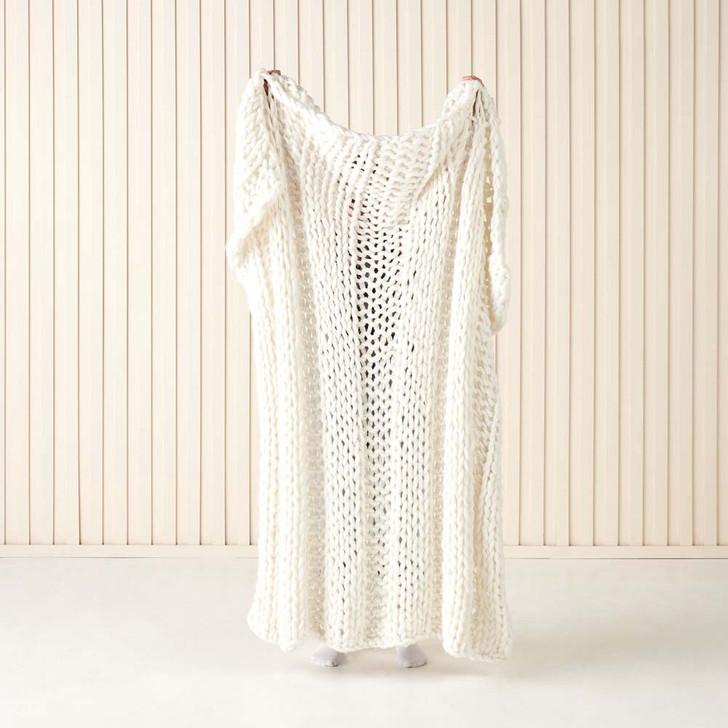 Linen House Lana Sugar Throw | My Linen