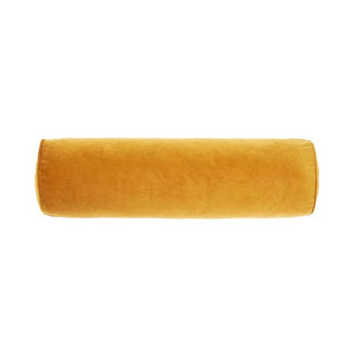 Linen House Enrique Gold Bolster Cushion | My Linen