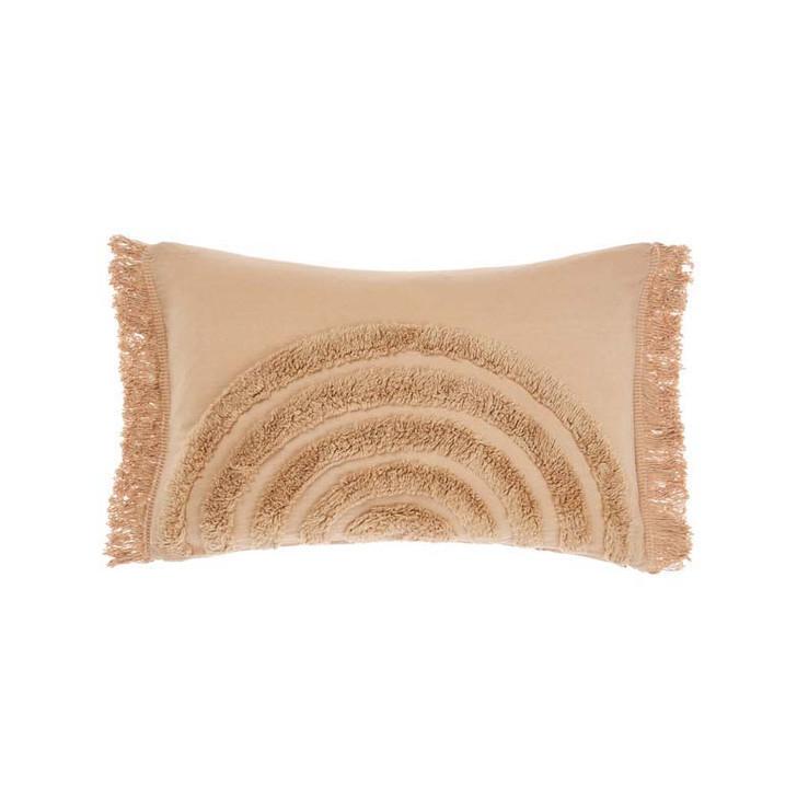 Linen House Daybreak Nude Long Filled Cushion   My Linen