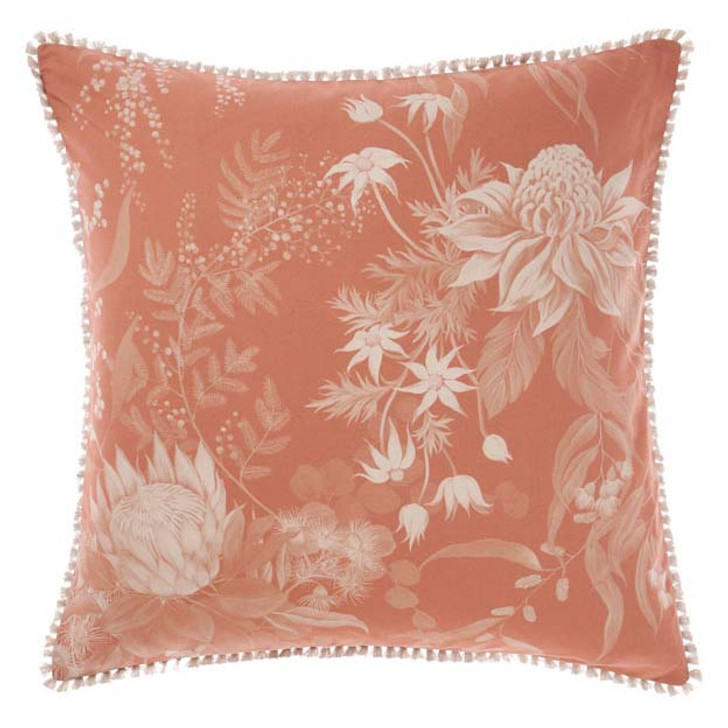 Linen House Acacia Garden Navy European Pillowcase | My Linen