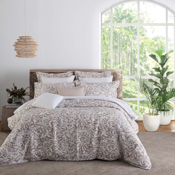 Private Collection Harlow Linen Super King Quilt Cover Set   My Linen
