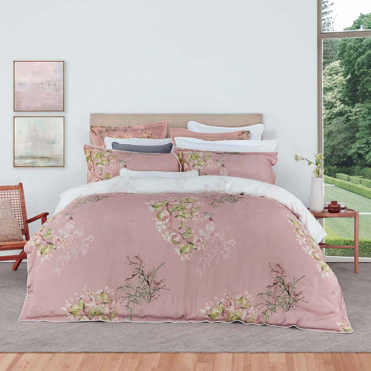 Private Collection Mizumi Blush Super King Quilt Cover Set | My Linen