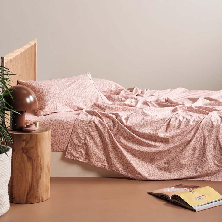 Linen House Goldie Rose Sheet Set King Single Bed | My Linen