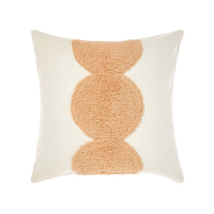 Linen House Ojai Sugar Square Filled Cushion | My Linen