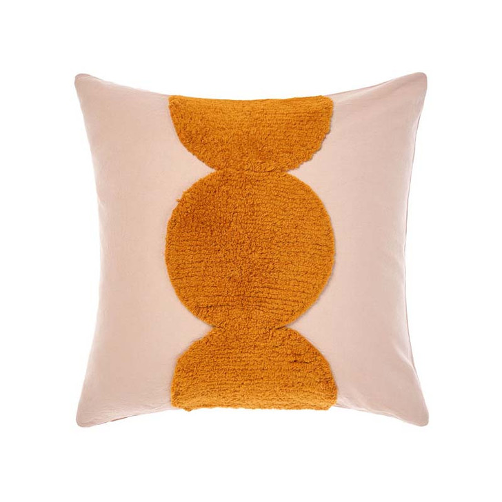 Linen House Ojai Rose Square Filled Cushion | My Linen