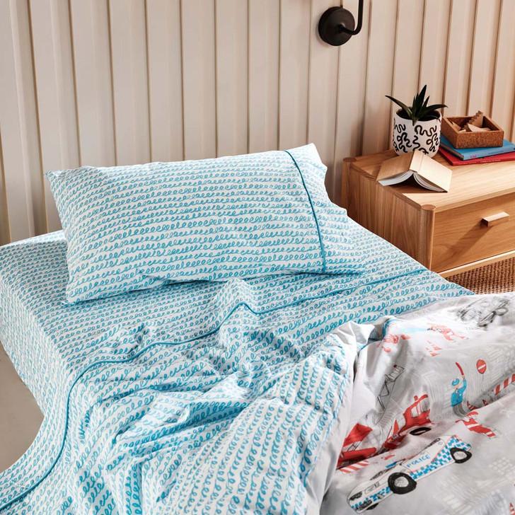 Linen House Kids Playset King Single Bed Sheet Set   My Linen