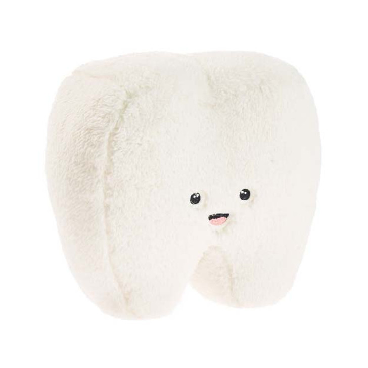 Hiccups Happy Tooth Novelty Filled Cushion   My Linen