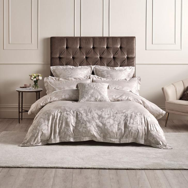 Grace by Linen House Verity Gold Super King Quilt Cover Set | My Linen