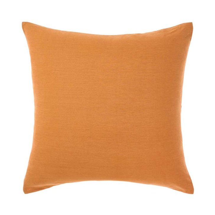 Linen House Nimes Terracotta European Pillowcase   My Linen